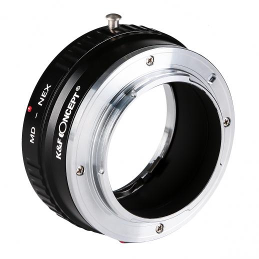 Minolta MD to Sony NEX E Mount Copper Adapter