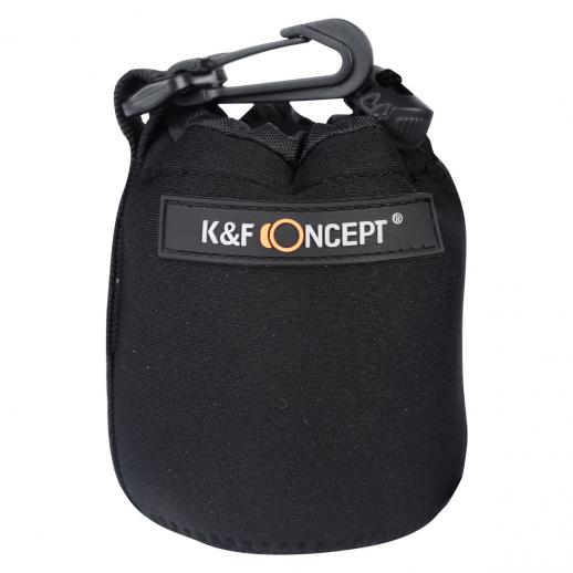 Soft Neoprene Lens Pouch Bag Case (S M L XL)